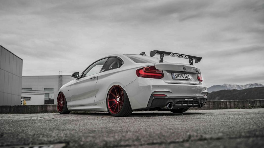 Z Performance ZP08 BMW F22 M235i Coupe Tuning 8 Top! Z Performance Felgen am BMW F22 M235i Coupe