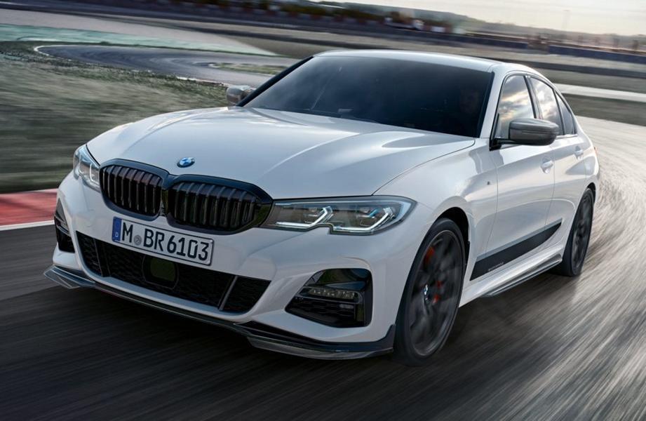 2018 BMW 3er G20 M Performance Parts Tuning 1 Heiß   2018 BMW 3er G20 schon mit M Performance Parts