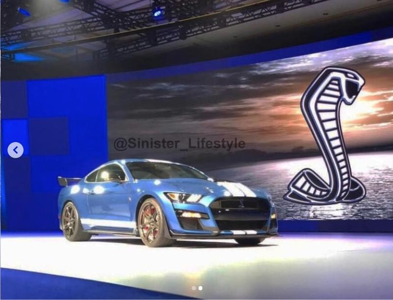 2019 2020 Ford Mustang Shelby GT500 Tuning 1 Halboffiziell: 2019/2020 Ford Mustang Shelby GT500 geleaked