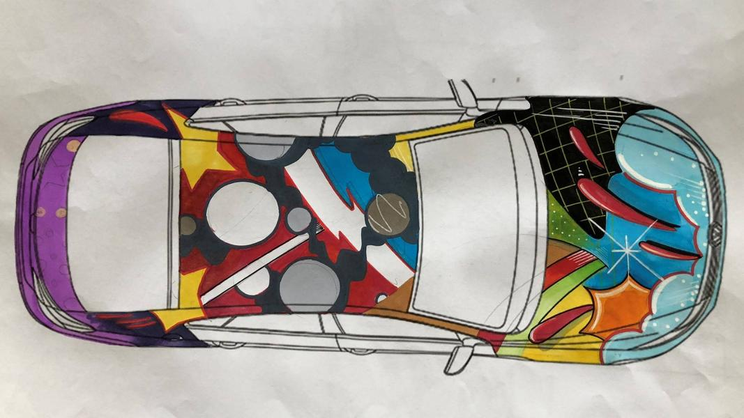 483 PS VW Art3on Artcar Tuning 2018 (3)