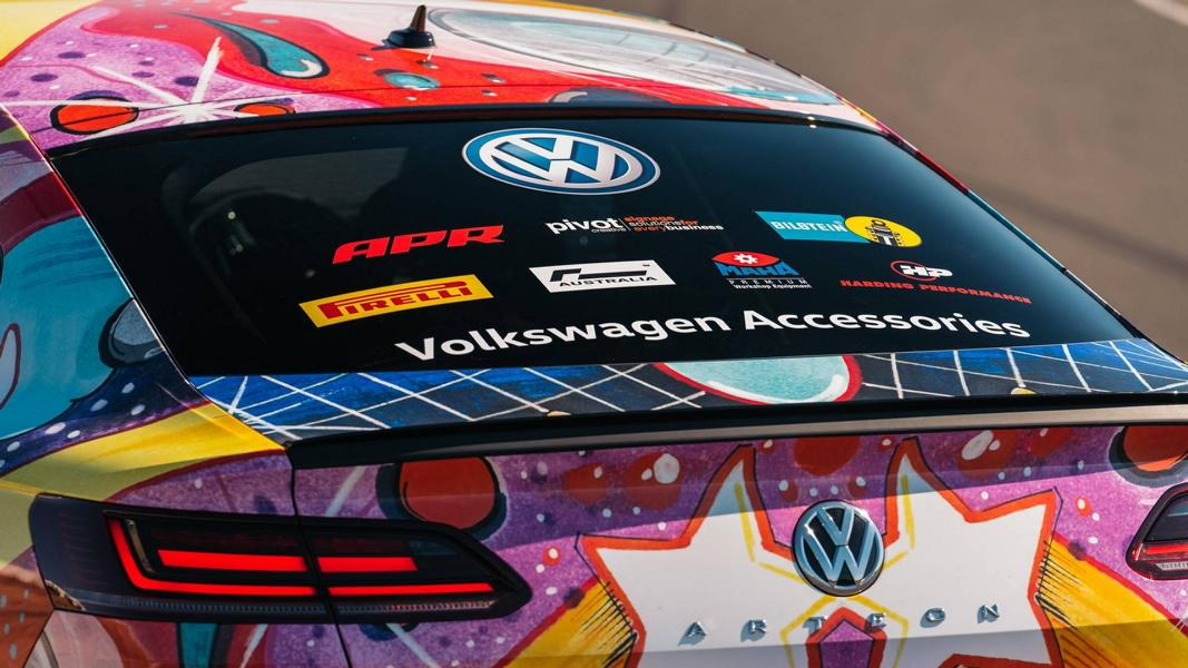 483 PS VW Art3on Artcar Tuning 2018 7 Unverkäuflicher Dampfhammer   483 PS VW Art3on Artcar