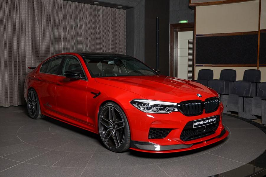 AC Schnitzer Tuning BMW M5 F90 Competition Imola Rot 14 Schnitzer Parts am BMW M5 (F90) Competition in Imolarot