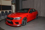 AC Schnitzer Tuning BMW M5 F90 Competition Imola Rot 18 190x127 Schnitzer Parts am BMW M5 (F90) Competition in Imolarot