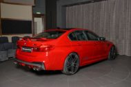 AC Schnitzer Tuning BMW M5 F90 Competition Imola Rot 8 190x127 Schnitzer Parts am BMW M5 (F90) Competition in Imolarot