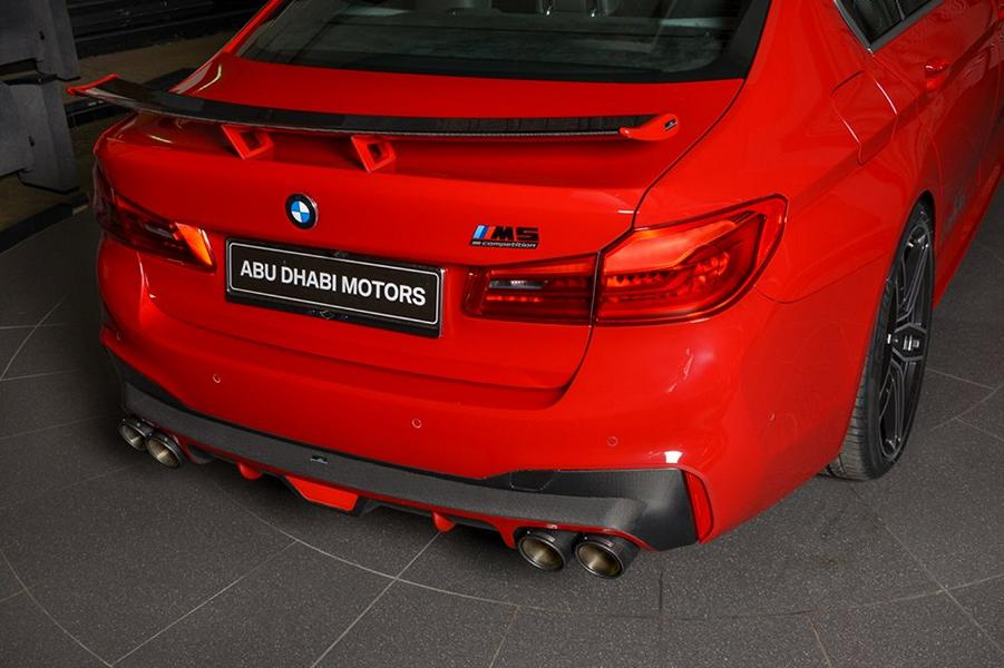 AC Schnitzer Tuning BMW M5 F90 Competition Imola Rot 9 Schnitzer Parts am BMW M5 (F90) Competition in Imolarot