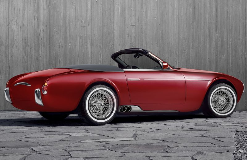 Ares Design Project Wami Maserati A6CGS Spyder Nachbau Tuning 2 Ares Design Project Wami: Maserati A6CGS Spyder Nachbau
