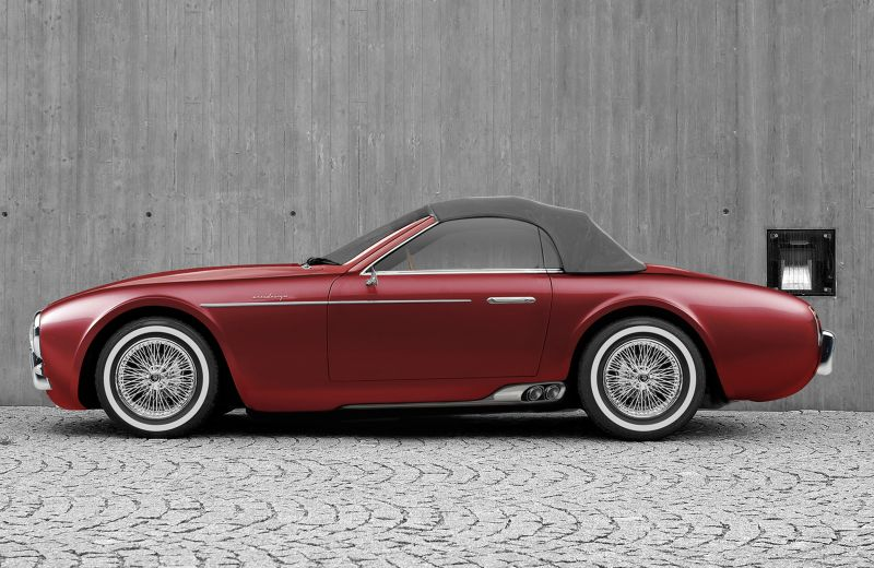 Ares Design Project Wami Maserati A6CGS Spyder Nachbau Tuning 3 Ares Design Limited Edition Model mit Kristallglas Parts!