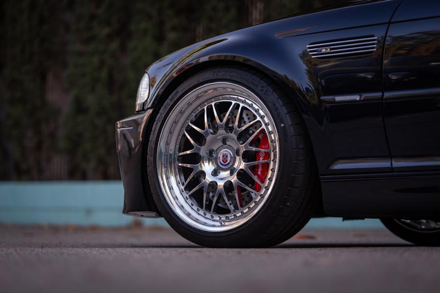 BMW E46 M3 HRE Performance Wheels 540 Tuning 18 BMW E46 M3 auf HRE Performance Wheels 540 Felgen