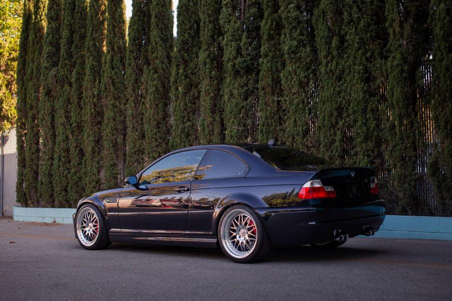 BMW E46 M3 HRE Performance Wheels 540 Tuning 9 BMW E46 M3 auf HRE Performance Wheels 540 Felgen