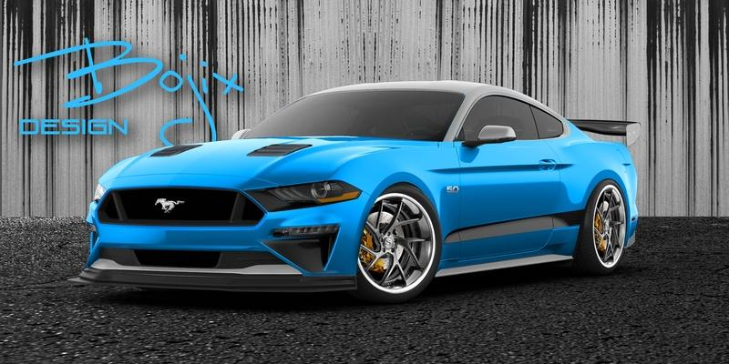 Bojix Design Ford Mustang GT Stage 2 SEMA 2018 Tuning Zur SEMA 2018   Bojix Design Ford Mustang GT Stage 2