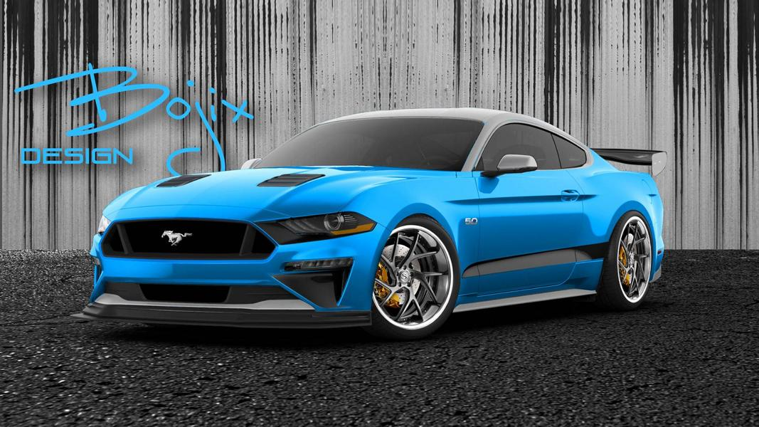 Bojix Design Ford Mustang SEMA 2018 SEMA 2018   Galpin Auto Sports Ford Mustang GT Concept