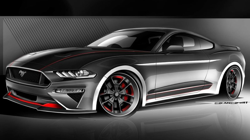CGS Motorsports Ford Mustang SEMA 2018 SEMA 2018   Galpin Auto Sports Ford Mustang GT Concept