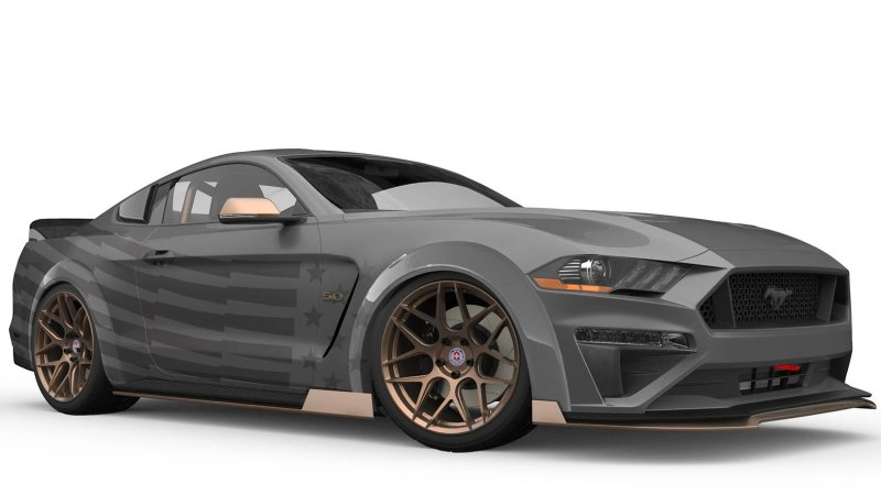 CJ Pony Parts Ford Mustang SEMA 2018 TJIN Edition Ford Mustang Widebody zur SEMA Auto Show