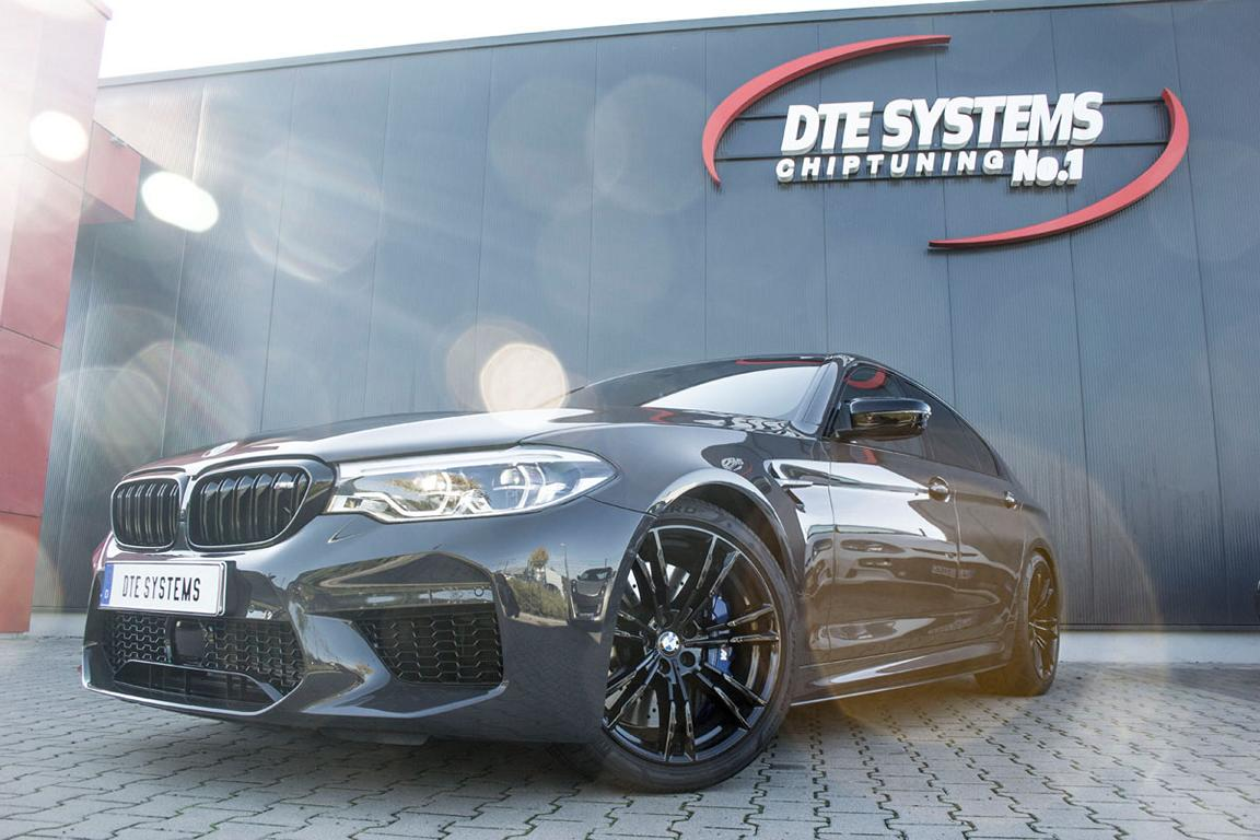 Chiptuning DTE Systems BMW M5 F90 2019 1 1 Stark   DTE Systems BMW M5 F90 mit 696 PS & 896 NM