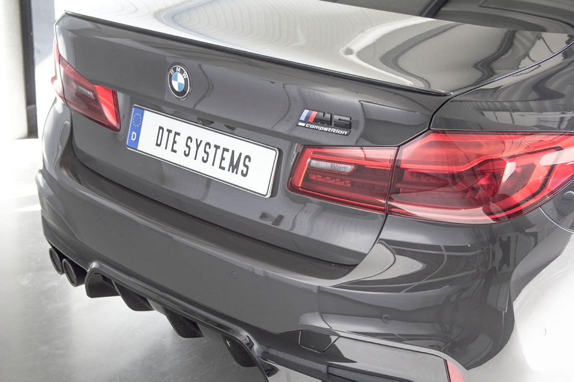 Chiptuning DTE Systems BMW M5 F90 2019 3 1 Stark   DTE Systems BMW M5 F90 mit 696 PS & 896 NM