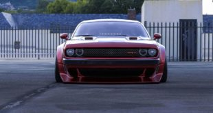 Clinched Widebody Dodge Challenger SRT8 Tuning Hellcat Redeye 2 310x165 Breiter Japaner: Clinched Widebody Lexus IS mit Airride