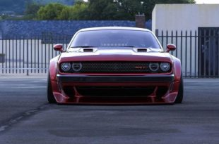 Clinched Widebody Dodge Challenger SRT8 Tuning Hellcat Redeye 2 310x205 FatMan   Clinched Widebody Dodge Challenger SRT8
