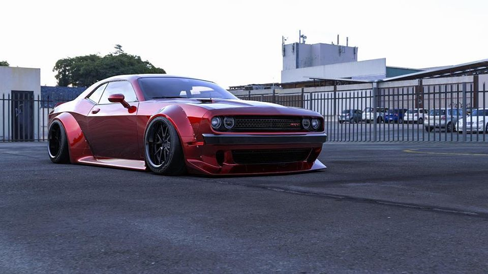Clinched Widebody Dodge Challenger SRT8 Tuning Hellcat Redeye 4 FatMan   Clinched Widebody Dodge Challenger SRT8