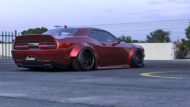 Clinched Widebody Dodge Challenger SRT8 Tuning Hellcat Redeye 5 190x107 FatMan   Clinched Widebody Dodge Challenger SRT8