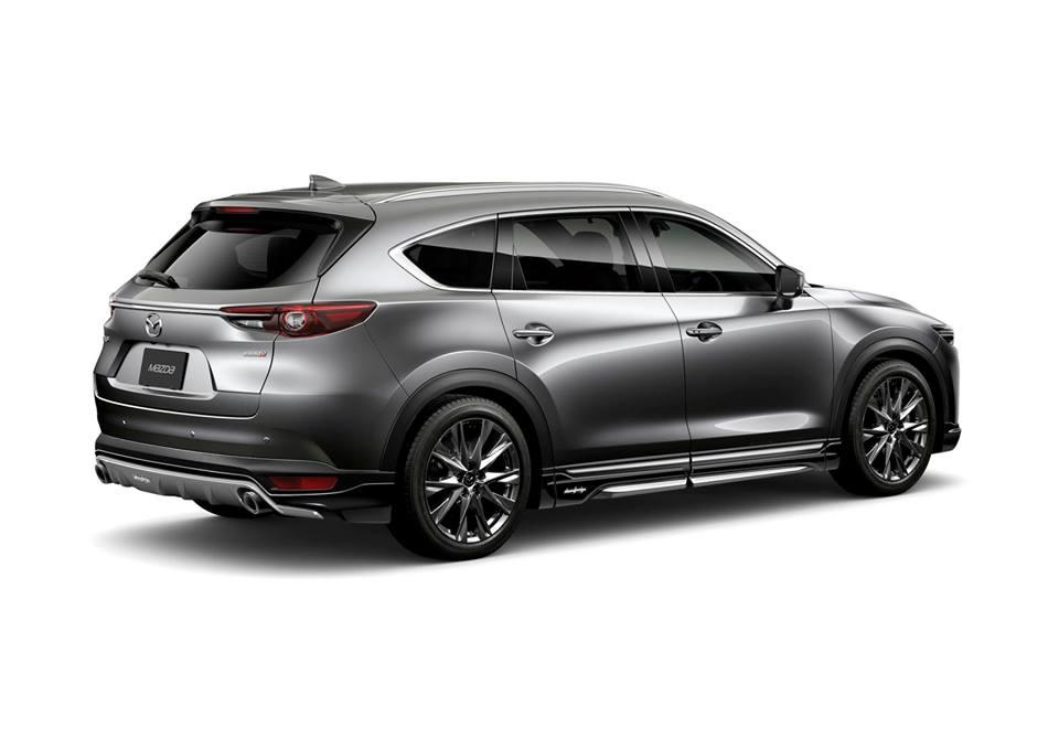DAMD inc. Bodykit Mazda CX 8 Tuning 4 2019   DAMD inc. Bodykit für den Mazda CX 8 geplant