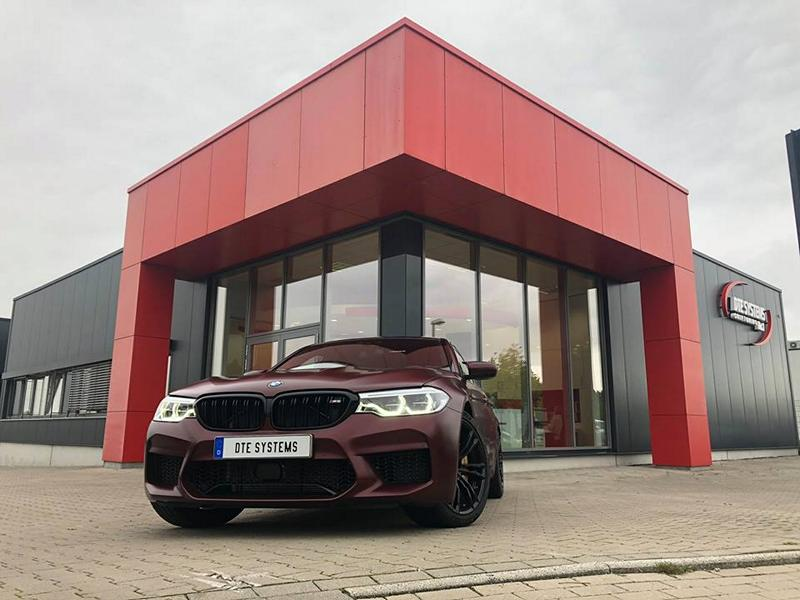 DTE Chiptuning BMW M5 F90 7 Stark   DTE Systems BMW M5 F90 mit 696 PS & 896 NM