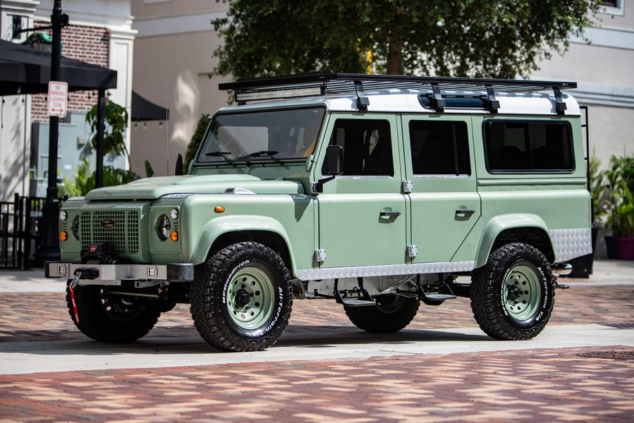 ECD Project S² Land Rover Defender 110 Tuning 15 Klassiker mit V8   ECD Project S² Land Rover Defender 110