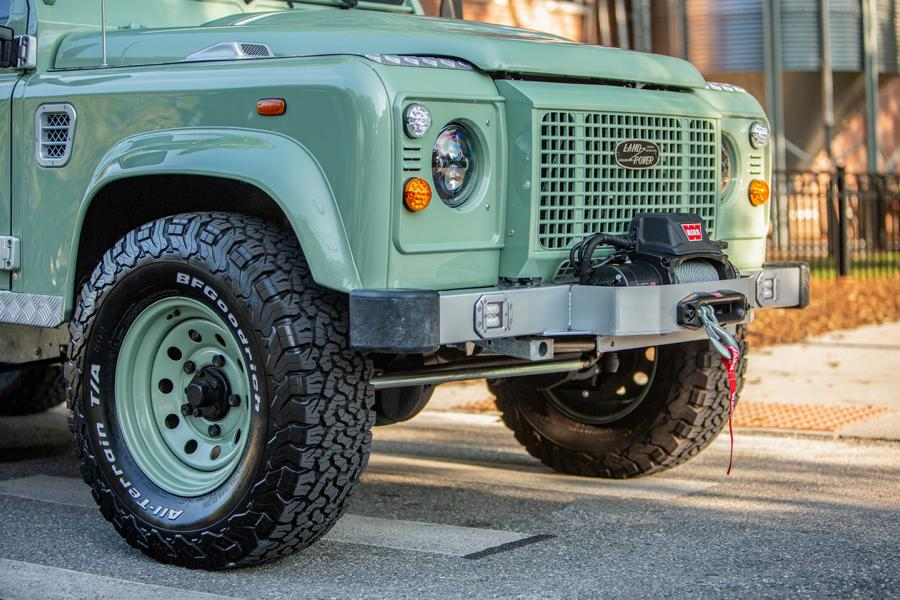 ECD Project S² Land Rover Defender 110 Tuning 2 Klassiker mit V8   ECD Project S² Land Rover Defender 110