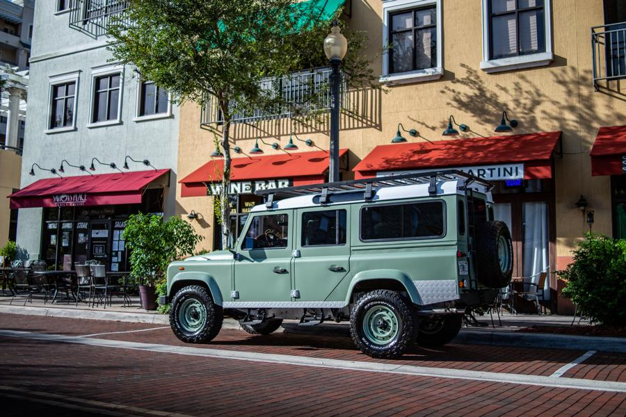 ECD Project S² Land Rover Defender 110 Tuning 20 Klassiker mit V8   ECD Project S² Land Rover Defender 110