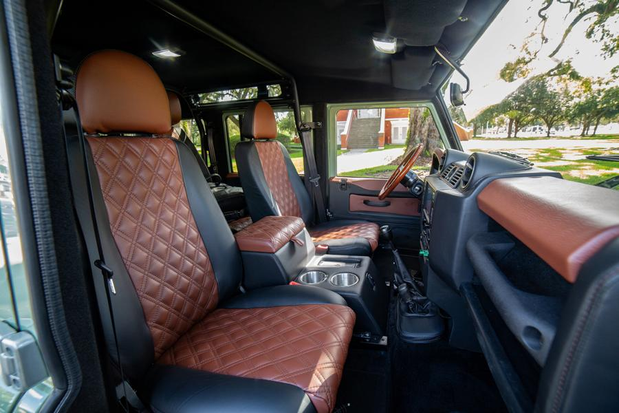 ECD Project S² Land Rover Defender 110 Tuning 22 Klassiker mit V8   ECD Project S² Land Rover Defender 110
