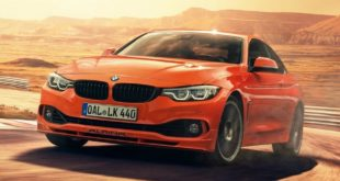 Feuerorange BMW Alpina B4S Edition 99 1 310x165 Teaser: M3 Touring Alternative   der Alpina B3 Touring