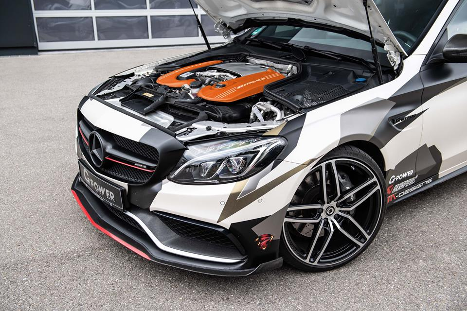 G Power Mercedes C63 AMG W205 2018 Tuning 2 Brutal   800 PS im G Power Mercedes C63 AMG (W205)