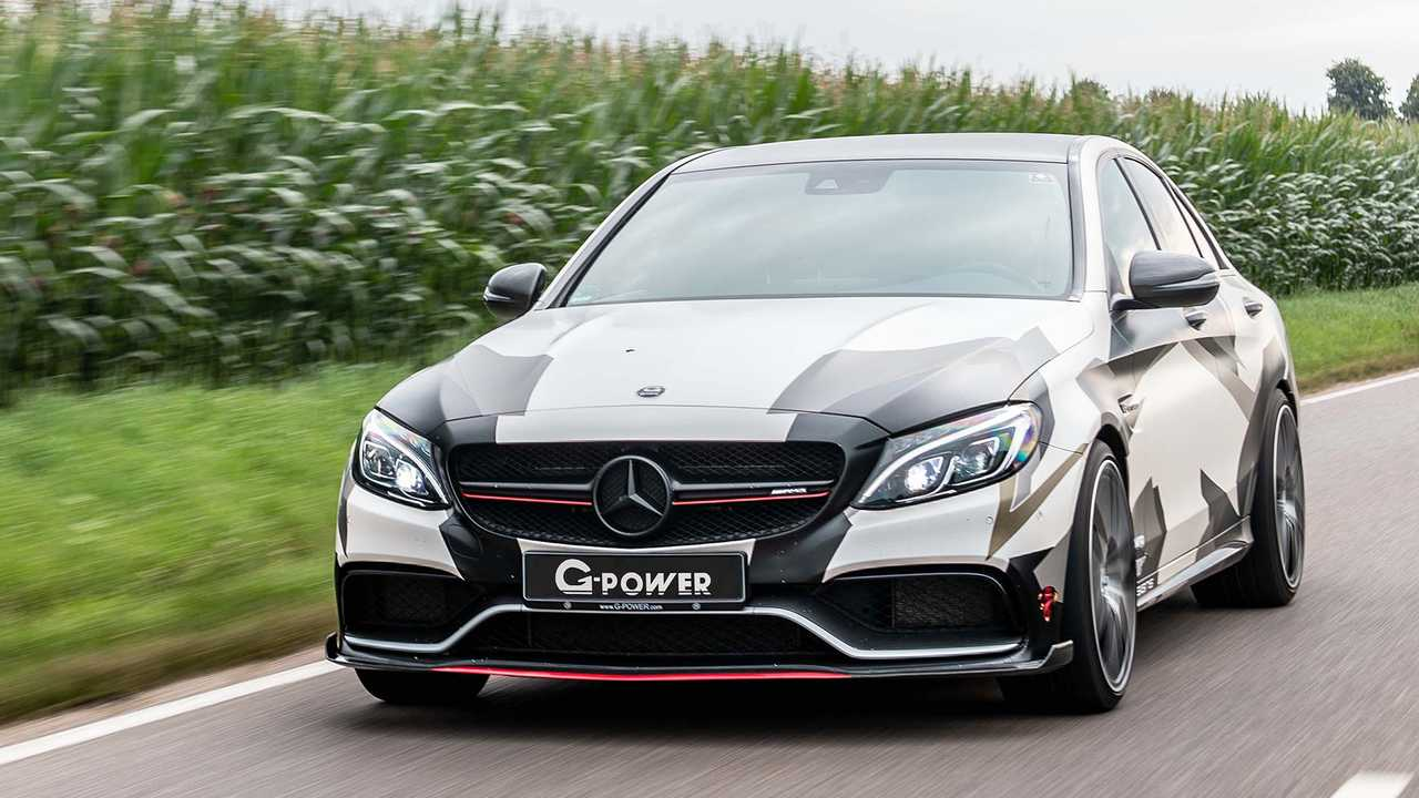 G Power Mercedes C63 AMG W205 2018 Tuning 4 Brutal   800 PS im G Power Mercedes C63 AMG (W205)