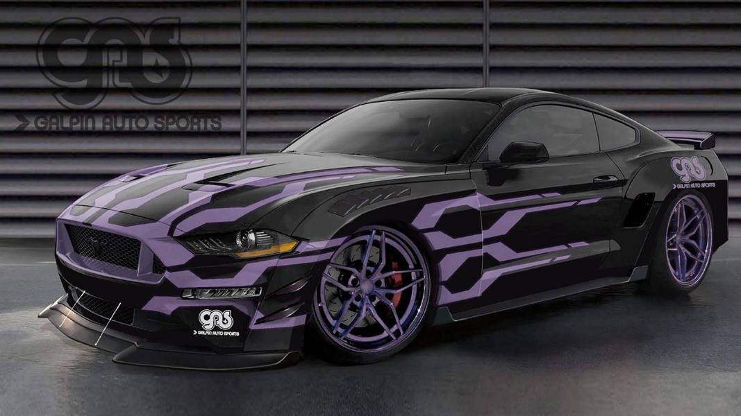 Galpin Autosports Ford Mustang SEMA 2018 Zur SEMA 2018   Bojix Design Ford Mustang GT Stage 2