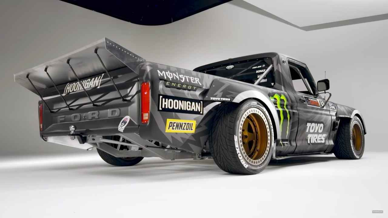 Gymkhana 10 Tuning Hoonitruck 1977 Ford F 150 15 Hauptrolle in Gymkhana 10 1977 Ford F 150 mit 928 PS