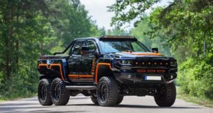Hennessey Bureko 6x6 Monster Chevrolet Silverado Tuning 2018 16 310x165 Hummer reloaded: 700 PS Hennessey Bureko 6x6 Monster
