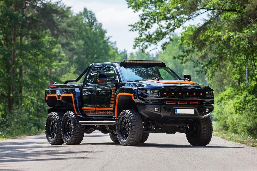 Hennessey Bureko 6x6 Monster Chevrolet Silverado Tuning 2018 16 Hummer reloaded: 700 PS Hennessey Bureko 6x6 Monster