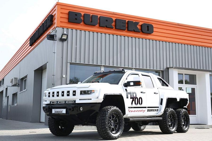 Hennessey Bureko 6x6 Monster Chevrolet Silverado Tuning 2018 37 Hummer reloaded: 700 PS Hennessey Bureko 6x6 Monster