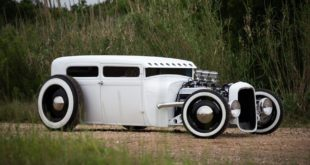 Hot Rod choppen Top Chop tuning 310x165 LeMans Felgen und 800 HP 1931 Ford Model A Pickup Truck