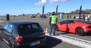 Lamborghini Huracan LP580 2 vs. VW Golf MK4 310x165 Video: Lamborghini Huracan LP580 2 vs. VW Golf MK4