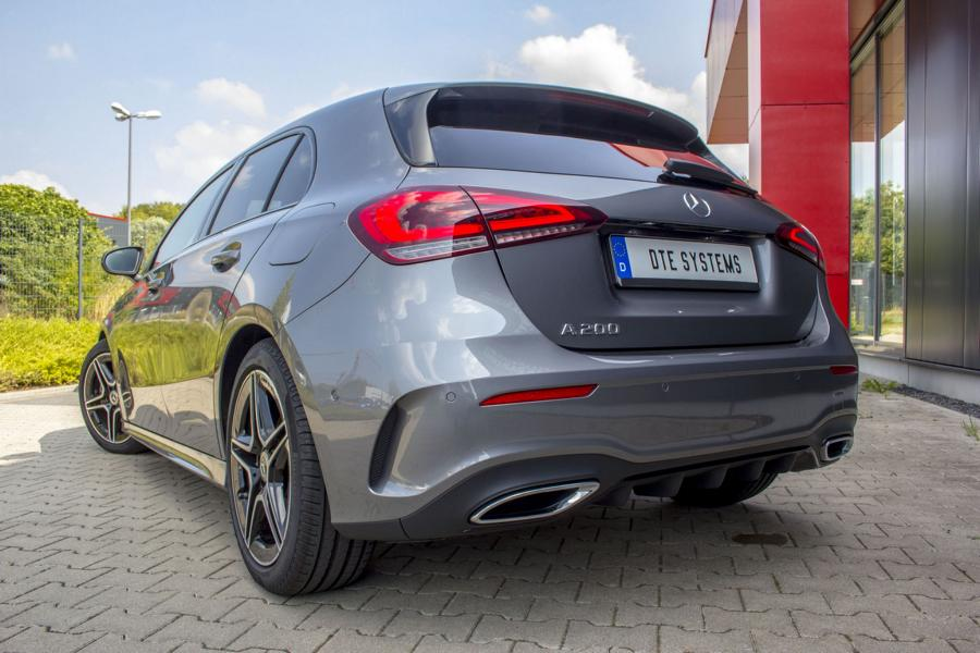 Mercedes A 200 W177 Chiptuning DTE Systems 2 Mercedes A200 (W177) mit Chiptuning von DTE Systems