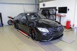 Mercedes CL500 C216 Prior Design V4 Bodykit 7 310x205 M&D Exclusive Cardesign Mercedes CL500 Coupe (C216)