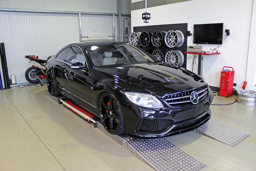 Mercedes CL500 C216 Prior Design V4 Bodykit 7 M&D Exclusive Cardesign Mercedes CL500 Coupe (C216)