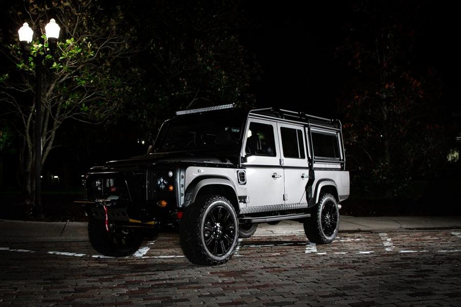 PROJECT STORM V8 Tuning Land Rover Defender 2018 4 PROJECT STORM   krasse V8 Power im dezenten Defender