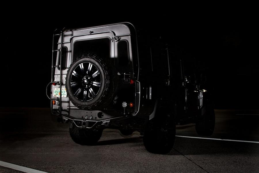 PROJECT STORM V8 Tuning Land Rover Defender 2018 6 PROJECT STORM   krasse V8 Power im dezenten Defender