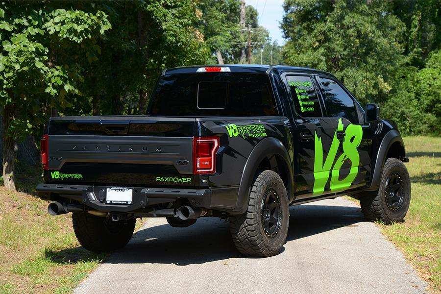 Paxpower Ford F 150 V8 Raptor Kompressor Tuning Platinum 12 Paxpower Ford F 150 V8 Raptor mit 758 PS & 813 NM