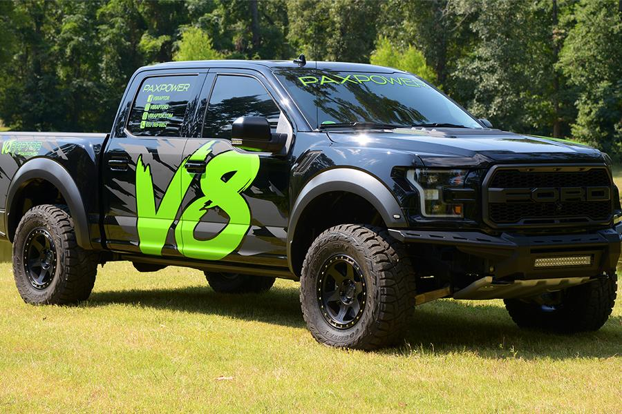 Paxpower Ford F 150 V8 Raptor Kompressor Tuning Platinum 13 Paxpower Ford F 150 V8 Raptor mit 758 PS & 813 NM