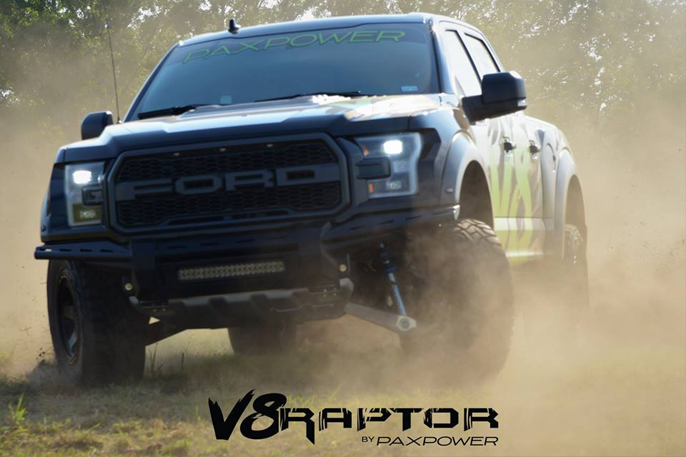 Paxpower Ford F 150 V8 Raptor Kompressor Tuning Platinum 19 Paxpower Ford F 150 V8 Raptor mit 758 PS & 813 NM