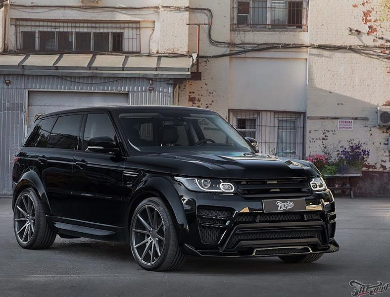 Range Rover Sport Renegade Widebody Tuning 9 Die Alternative? Range Rover Sport mit Renegade Bodykit