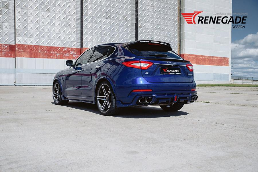 Renegade Design Bodykit Tuning Maserati Levante 10 Dezent: Renegade Design Bodykit am Maserati Levante