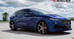 Renegade Design Bodykit Tuning Maserati Levante 11 310x165 Dezent: Renegade Design Bodykit am Maserati Levante